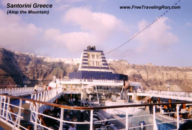 SANTORINI GREECE - FreeTravelingRon